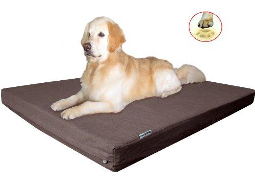 Durable waterproof xxlarge orthopedic memory foam pet dog for Best durable dog bed